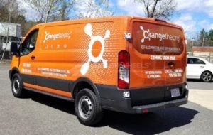 Van Wrap Graphics Orange Theory Fitness OTPW