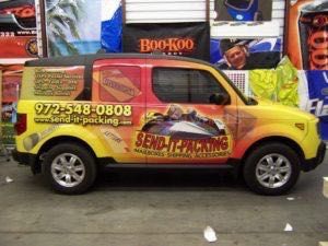 Van Wrap Graphics Packing HES