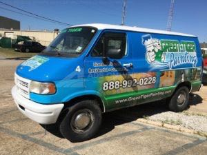 Van Wrap Graphics Painting GTP