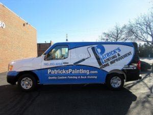 Van Wrap Graphics Painting PPT