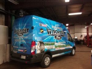 Van Wrap Graphics Parts Automotive PFT4
