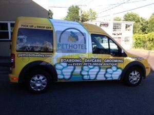 Van Wrap Graphics Pet PHH