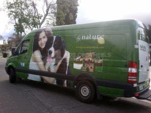 Van Wrap Graphics Pet Sprinter KNG