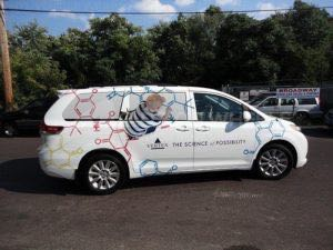 Van Wrap Graphics Pharmaceutical Medical VTX