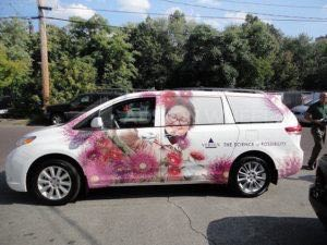 Van Wrap Graphics Pharmaceutical Medical VTX3