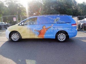 Van Wrap Graphics Pharmaceutical Medical VTX5