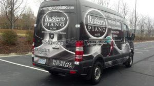 Van Wrap Graphics Piano RGP