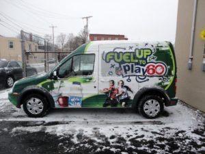 Van Wrap Graphics Play60 P360