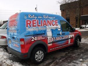 Van Wrap Graphics Plumbing RLP3