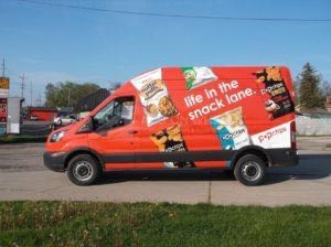 Van Wrap Graphics Pop Chips POP