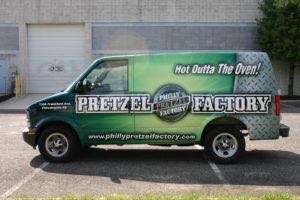 Van Wrap Graphics Pretzel PPF