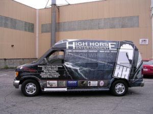 Van Wrap Graphics Record HHEnt