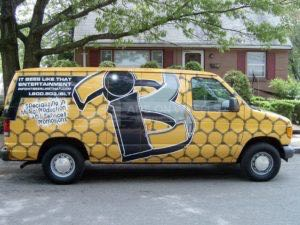 Van Wrap Graphics Record Label IBL