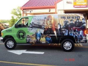 Van Wrap Graphics Record Label IDJ