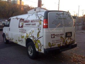 Van Wrap Graphics Restaurant Delivery HHE