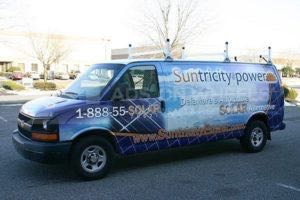 Van Wrap Graphics Solar Stp
