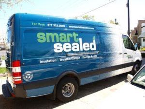 Van Wrap Graphics Sprinter SST