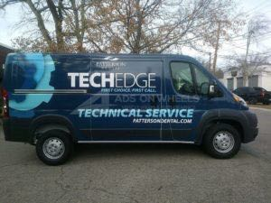 Van Wrap Graphics Tech Edge Dental AAA