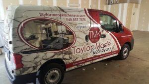 Van Wrap Graphics Tmk
