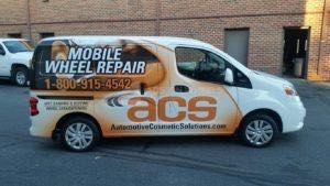 Van Wrap Graphics Wheel Repair ZSAC