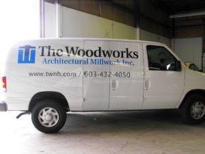 Van Wrap Graphics Woowork Construction TWW