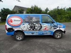Van Wraps Graphics Cargo 4xh