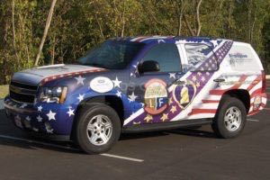 Vehicle Wraps Graphics Vinyl Fleet Tahoe Chevy Driver