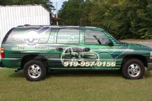 Vehicle Wraps Graphics Vinyl Fleet Car Suv Chevy Chevrolet Suburban Auto Finders Passenger