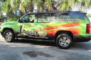 Vehicle Wraps Graphics Vinyl Fleet Large Car Suv Chevrolet Chevy Suburban Bog Driver