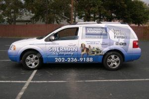 Vehicle Wraps Graphics Vinyl Fleet Large Format Car Suv Ford Freestyle DRIVER